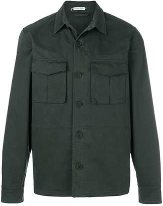 Tomas Maier peach cotton field jacket
