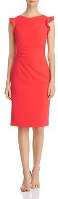 Elie Tahari Elsie Ruched Sheath Dress