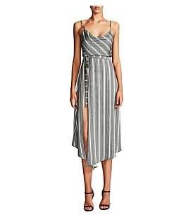 Shona Joy Phoenix Cowl Cocktail Dress