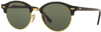Ray-Ban Round Mirrored Clubmaster® Sunglasses