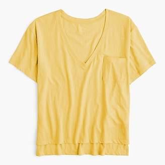 J.Crew Slub cotton V-neck T-shirt