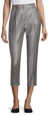 Peserico Prince of Wales Cropped Pants