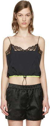 Alexander Wang Black Cropped Camisole $375 thestylecure.com