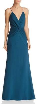 Jarlo Pia Twist-Front Gown - 100% Exclusive