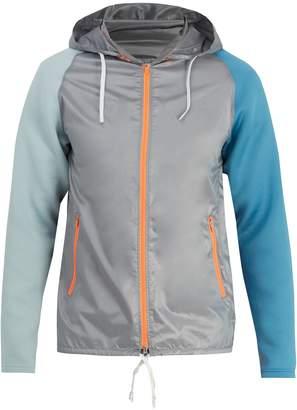 adidas Fabric Mix hooded jacket