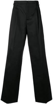 Raf Simons wide leg trousers