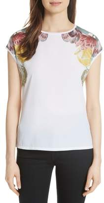 Ted Baker Anee Tranquility Woven Front Top