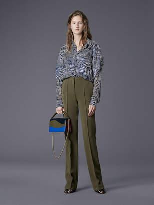 Diane von Furstenberg Long-Sleeve Button-Down Shirt