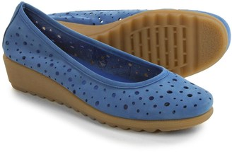 The Flexx Run Perfed Shoes - Nubuck, Slip-Ons (For Women) $34.99 thestylecure.com