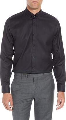 Ted Baker Leek Slim Fit Solid Dress Shirt
