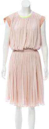 Vionnet Silk Knee-Length Dress