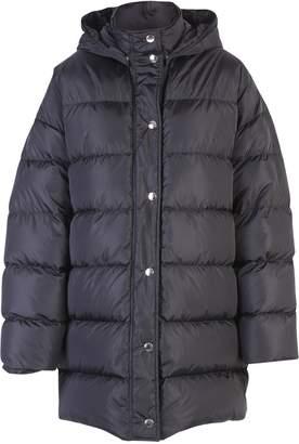 MSGM Black Oversized Padded Jacket
