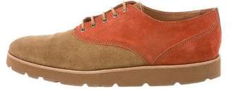 Opening Ceremony Suede Derby Shoes