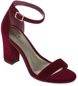 WORTHINGTON Worthington Beckwith Womens Heeled Sandals $55 thestylecure.com
