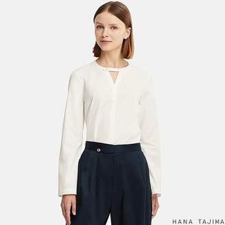 Uniqlo Women's Flare Long-sleeve Blouse (hana Tajima)