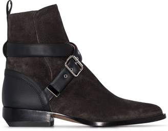 Chloé Rylee buckle-strap ankle boots