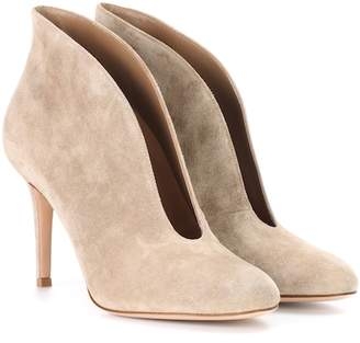 Gianvito Rossi Vamp 85 suede ankle boots