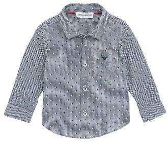Armani Junior Micro Dot Shirt