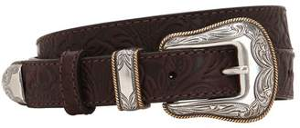 Kate Cate 25mm Embossed Leather Belt