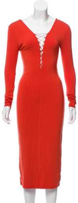 Alexander Wang Long Sleeve Bodycon Dress w/ Tags
