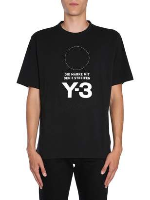 Y-3 Y 3 Overesize Fit T-shirt