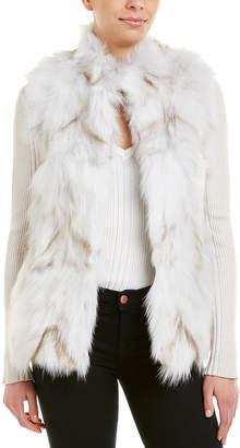 Jocelyn Fuzzy Vest