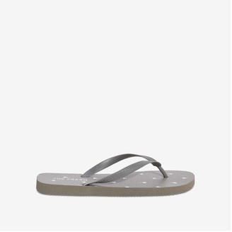 Joe Fresh Men's Flip Flop, Dark Grey (Size 9)