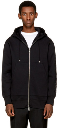 Burberry Black Oversized Lestford Hoodie $495 thestylecure.com