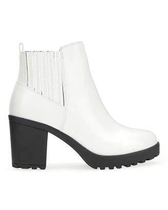 9c3842f88d5 White Heeled Boots - ShopStyle UK