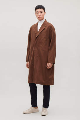 Cos RELAXED COTTON-TWILL TRENCH