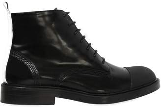 Joseph 20mm Brushed Leather Ankle Boots