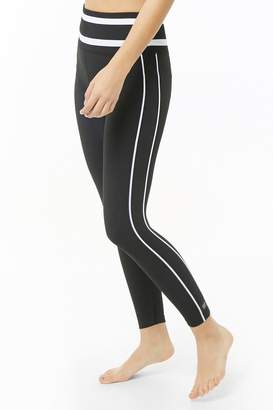943c64384013c1 Black And White Striped Leggings - ShopStyle Canada