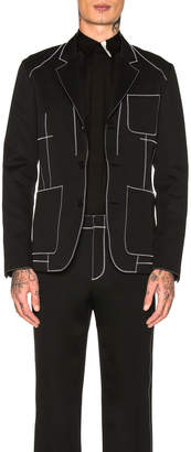 Givenchy Contrast Stitch Jacket