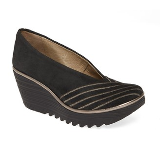 Fly London Yaku Wedge Pump