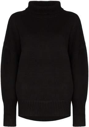 Hyke turtleneck knit jumper