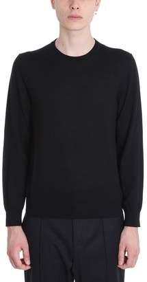 Ermenegildo Zegna Black Wool Sweater