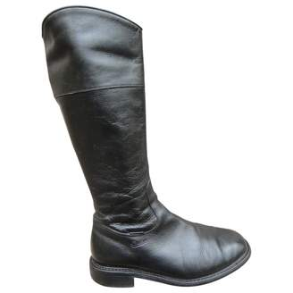 Paraboot Leather Biker Boots
