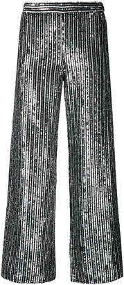 Ashish sequin embellished cropped trousers