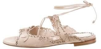 Marchesa Peyton Laser Cut Sandals