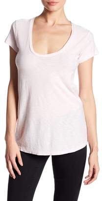 James Perse Deep V-Neck Tee