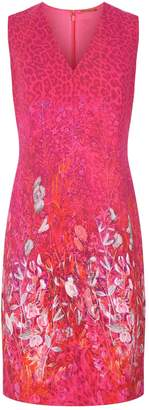 Elie Tahari Roanna Floral Print Dress