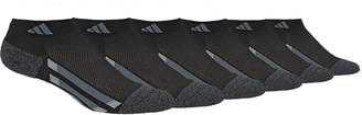 adidas Boys' Climalite Low Cut Socks 6-Pack