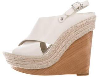 Alice + Olivia Platform Wedge Sandals Platform Wedge Sandals