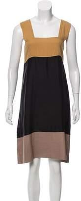 Marni Colorblock Sleeveless Dress