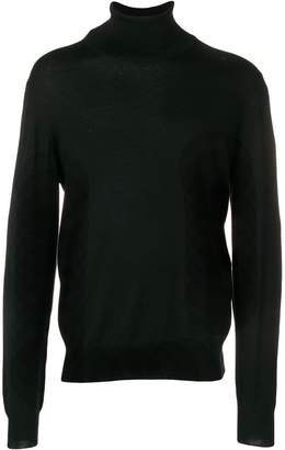 Maison Margiela elbow patch turtleneck sweater