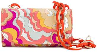 Emilio Pucci abstract print shoulder bag