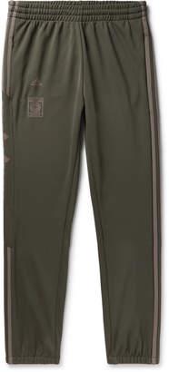 1d85739b7b46f adidas + Yeezy Calabasas Slim-Fit Tapered Striped Jersey Sweatpants