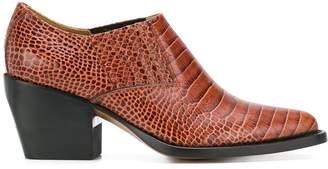 Chloé cowboy ankle boots