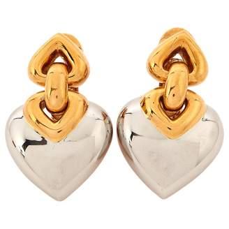 Bulgari White gold earrings