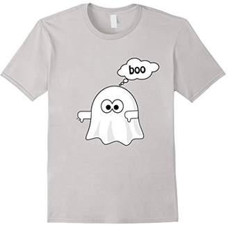 """boo"" Ghost Thumbs down T-Shirt"